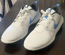 Nike Roshe G Tour Golf Shoes Mens Size 12M - White/Carolina Blue Ar5580-105