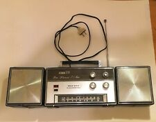 Galaxy Electronics Am/Fm Solid State Convertible Stereo Vintage Radio Portable
