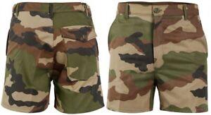 Pantalon Court Camouflage CE / Short militaire RIPSTOP Armée Française TAILLE 44