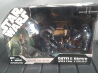 Star Wars 30th Anniversary Battle Pack Droid Factory Capture BNIB Sealed