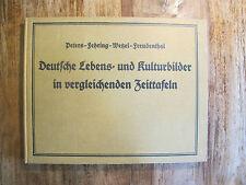 1924 Freudenthal Deutsche Lebens- und Kulturbilder in vergleichenden Zeittafeln