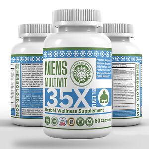 Herboloid MENS MultiVit Metabolism & Immunity Herbal Multivitamin Supplement