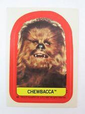 1983 STAR WARS Return of the Jedi Sticker #42 Chewbacca - NM/MINT