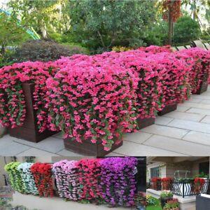 Artificial Ivy Flower Vine Garland Hanging Home Garden Trailing Basket Plants