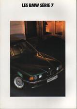brochure 1990 BMW SÉRIE 7