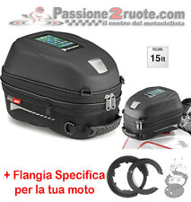 Tank Bag Ducati Monster 1200 Givi ST603 Tanklock Bf08 Tankbag