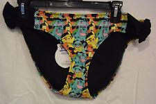 Pokemon Bikini Bottoms size XL Featuring Pikachu, Charmader, Squirtle