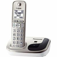 Panasonic KX-TGD210N  Expandable Digital Cordless Phone with 1 Handset, Silver