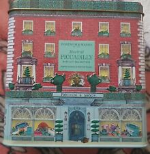 Fortnum and Mason Musical Piccadilly Biscuit Selection Tin- empty