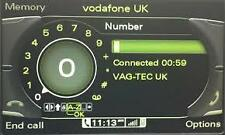 Audi A5 2009> 3G MMI Bluetooth Activation