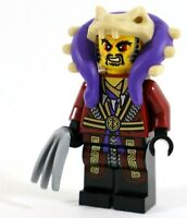 LEGO NINJAGO VILLAIN MASTER CHEN MINIFIGURE SNAKE ARMY LEADER - NEW GENUINE