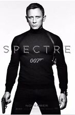 "HUGE Original D/S JAMES BOND SPECTRE 48""X70"" Bus Shelter Poster NOVEMBER ADVANCE"