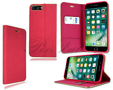 para Apple iPhone 5s 6s 7 Plus Nuevo Elegante Cuero Libro