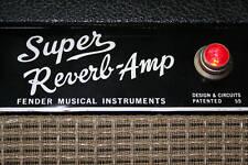 Super Reverb Blackface Mod Kit for Vintage Fender Silverface Amps