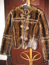 NEW Victoria Secrets VS db STUDIO reversible faux fur coat jacket M $395