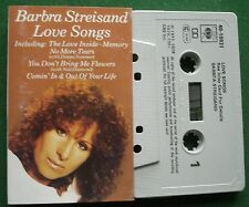 Barbra Streisand Love Songs ft Donna Summer Neil Diamond Cassette Tape - TESTED