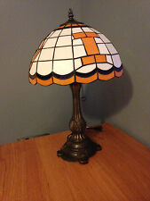 NEW Authentic University of Illinois Illini Tiffany Style Desk Lamp