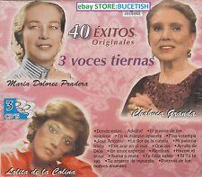 Maria Dolores Pradera,Lolita de la Colina,Chabuca Granda 40 Exitos Originales