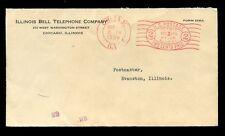 TELEFONO Meter franking 1936 USA BELL... ulteriori 1C OVALE Chicago