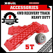 X-BULL Recovery Tracks Sand Track Trax 4x4 4WD Snow Mud CAR Vehicles ATV Red