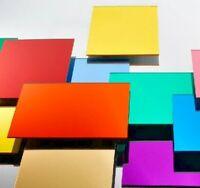 3mm Mirror Colour Perspex Acrylic Sheet Plastic Panel