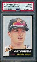 2019 Topps Living Set #272 Mike Yastrzemski RC Rookie PSA 10 Gem Mint SP Card