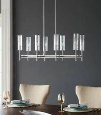 Scott Living Windsor 8-Light Brushed Nickel Modern/Contemporary Chandelier NEW