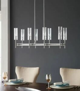 Chandelier Scott Living Windsor 8-Light Brushed Nickel Modern/Contemporary NEW