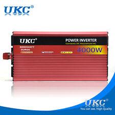 4000W Power Inverter 4K Watt 12V-220V Modified Sine Wave Caravan Boat USB Output