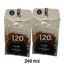 Hair tie Ponytail Holder Elastic Hair Rubber Band 240pc Polyurethane MI Korea Br