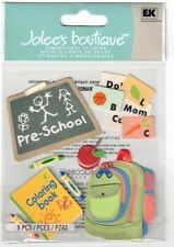 JOLEE'S BOUTIQUE PRESCHOOL DIMENSIONAL STICKERS BNIP