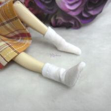 Blythe Pullip DAL Hujoo Momoko Obitsu 1/6 Body Doll Outfit Short Socks WHITE