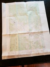 Peshatin Quadrangle Washington Chelan County USGS TOPO Map 1989
