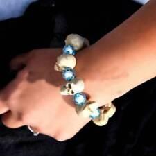 Hand Skull Charm Skeleton Women Z Women Halloween Beads Bracelet Trendy Plastic
