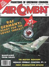 Air Combat May 1984 RAF Germany Mohawk Mirage AH-64 Apache Phantom C-130A Tomcat