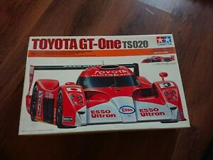 Very Rare Tamiya Toyota GT-One TS020 Model Kit 1/24 Scale.