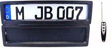 2x Nummernschildhalter Kennzeichenhalter 12V mit Rollo Up & Down Elektrische Set