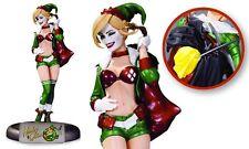 NEW DC COMICS BOMBSHELLS HOLIDAY HARLEY QUINN STATUE CHRISTMAS PRESENTS BATMAN