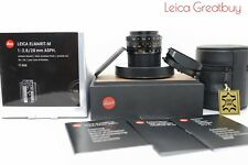 """NEW(Others)"" Leica ELMARIT-M 28mm f/2.8 Asph.Lens 6 bit coded boxed #4191862"