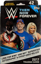2017 Topps WWE Then Now Forever Hanger Box