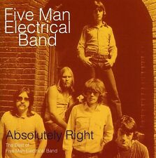 Five Man Electrical Band - Absolutely Right [New CD]