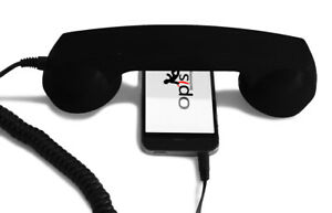 OPIS 60s MICRO: retro handset / headset in the form of a phone receiver