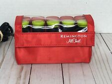 Remington All That Travel Hot Rollers Curlers Electric Pageant Dance Red EUC!