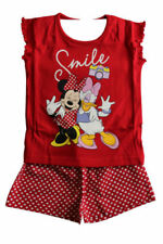Minnie Mouse Cotton Girls' Sleepwear Pyjama Sets