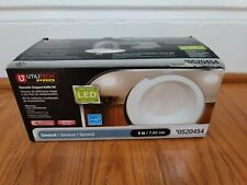 Utilitech Pro White Integrated Remodel Recessed Light Kit (Fits Opening: 3-in)