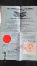 US VERY OLD PASSPORT 1925 UNITED STATES  OF AMERICA