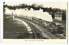 The Golden Arrow, Real Photo Engine Series RP PPC by Valentines, Unposted