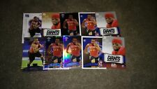 DA'REL SCOTT 10 CARD LOT ALL ROOKIES NEW YORK GIANTS MARYLAND TERRAPINS