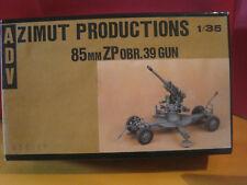 A.D.V AZIMUT PRODUCTIONS KIT A MONTER 85mmZP OBR.39 GUN 1/35 NEUF RESINE/METAL
