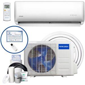 MrCool Olympus Hyper Heat miniSplit Heat Pump/AC 23 SEER Wall Mount 12k BTU 115V